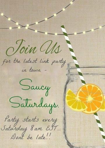 Saucy Saturdays Is Here!