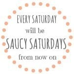 Saucy Saturdays | Take Two Tapas