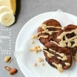 These creamy banana fritters are warm with a soft custard-like center and are enhanced by the flavor of peanut butter!