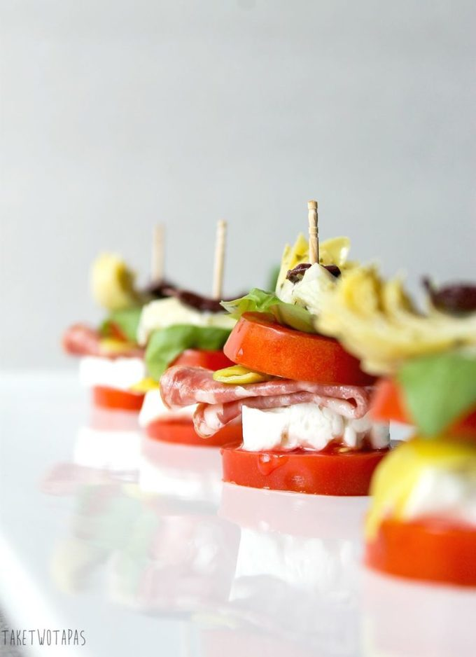 Mediterranean Salad Stacks | Take Two Tapas