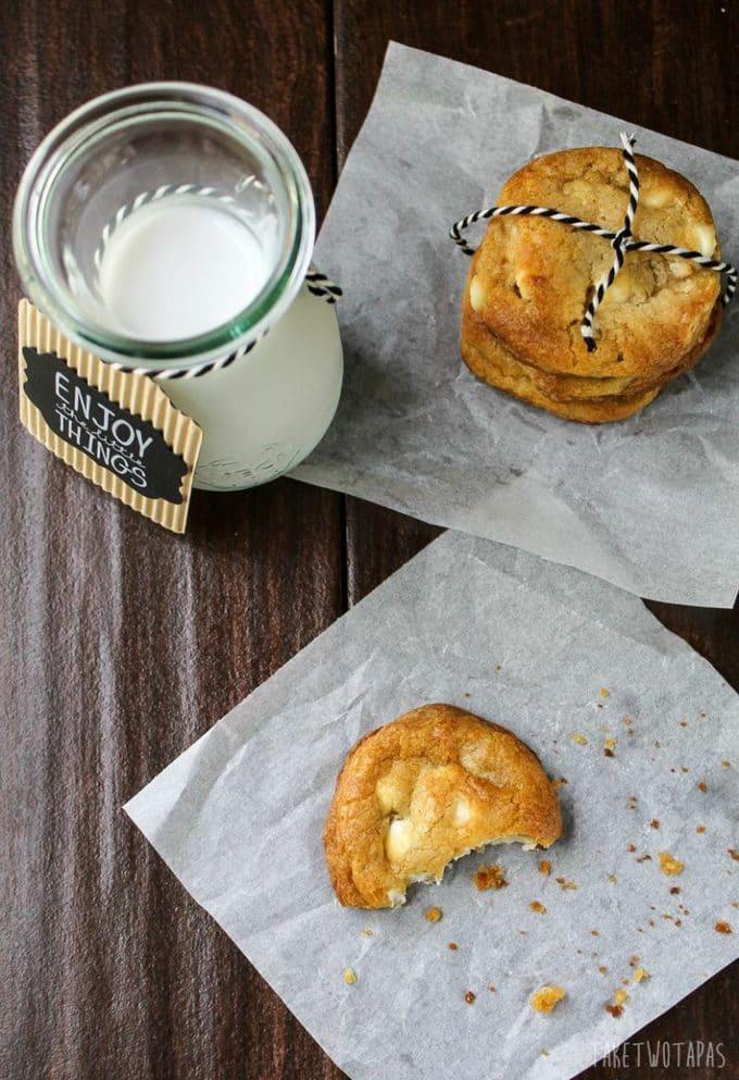 White Chocolate Macadamia Nut Cookies | Take Two Tapas