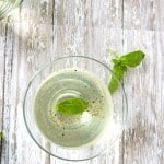 Basil Martini with Lime and Black Pepper |Take Two Tapas