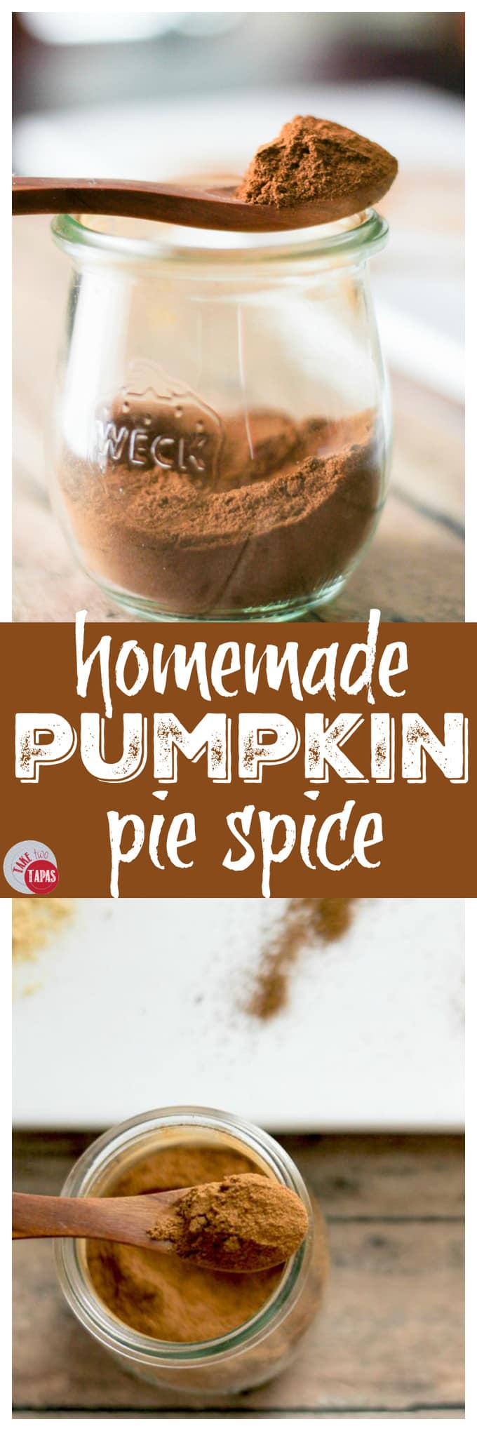 Homemade Pumpkin Pie Spice Mix | Take Two Tapas