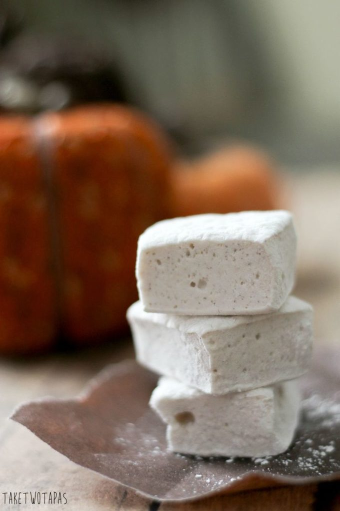 Pumpkin Pie Spice Marshmallows | Take Two Tapas