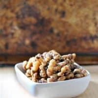 Fall Spiced Walnuts
