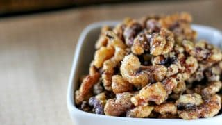 Fall Spiced Walnuts
