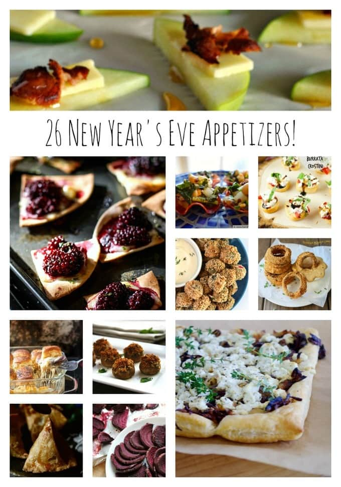 Monday Maelstrom-New Year's Eve Appetizers