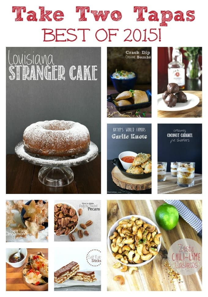 Here is a collection of my top 10 recipes from 2015! What a great year for recipes! Best of 2015 Take Two Tapas