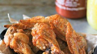 Sriracha Pineapple Chicken Wings
