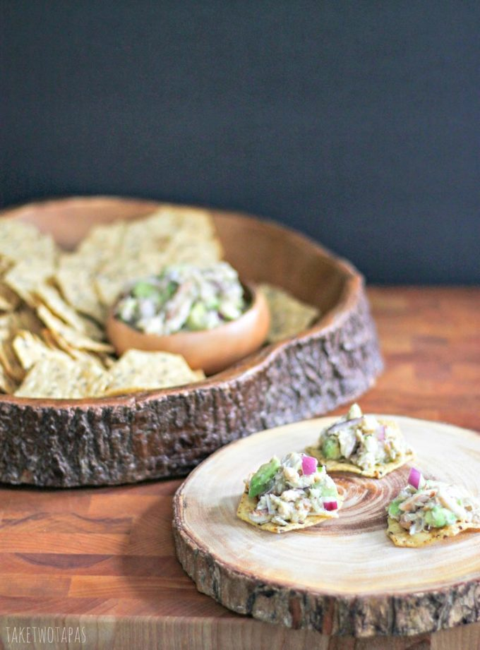 Crab and Avocado Salad | Take Two Tapas | #Crab #Avocado #CrabSpread #Dip