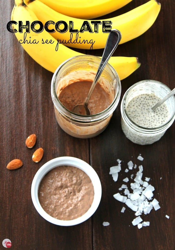 Chocolate Chia Seed Pudding | Take Two Tapas | #ChiaSeed #Chia #pudding #breakfast #Dessert #paleo