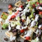 Love to grab a Gyro sandwich on the run? All the flavors of a Gyro but in the form of Nachos. Greek flavors like cucumber, dill, lamb, and Kalamata olives. Gyro Nachos with Pita Chips Recipe | Take Two Tapas