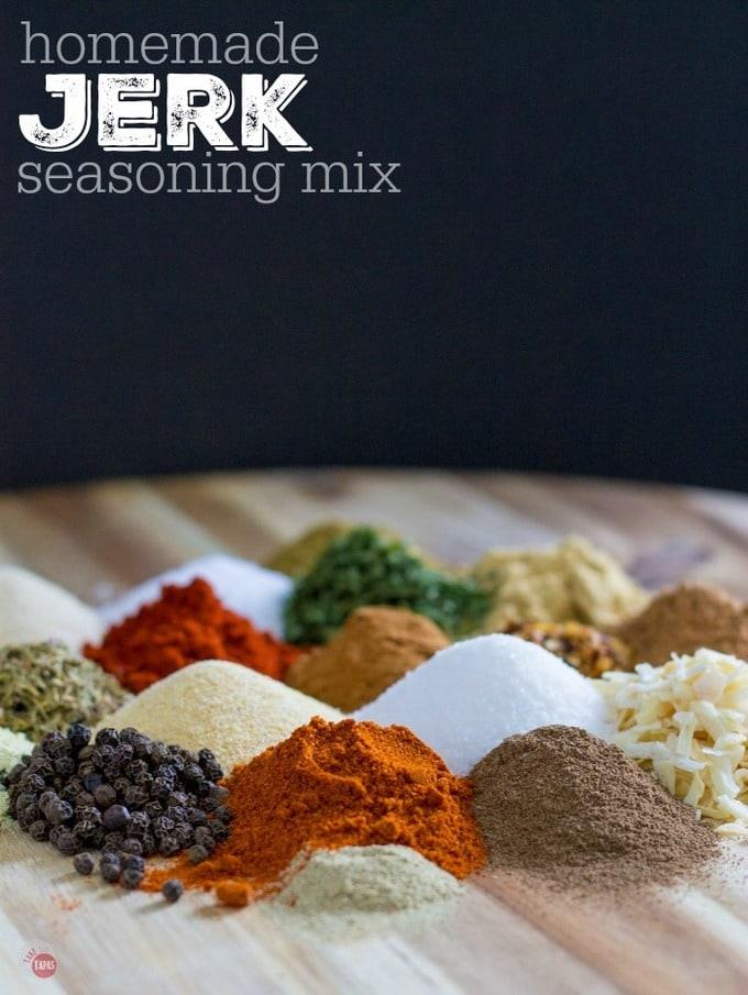 Jamaican Jerk Seasoning Mix Recipe | Take Two Tapas | #Caribbean #Jamaican #Jerk #JerkSeasoning #SpiceBlend #Seasonings