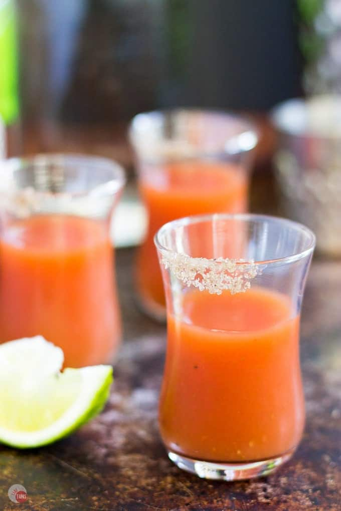 Bloody Mary Shots Recipe | Take Two Tapas | #BloodyMary #Shots #Cocktails