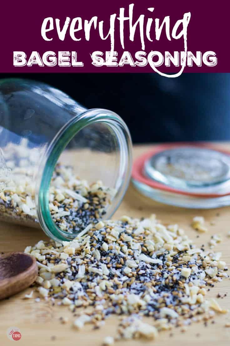 The best Everything Bagel Seasoning Mix | Take Two Tapas | #EverythingBagel #BagelSeasoning #EverythingBagelSeasoning #TraderJoes