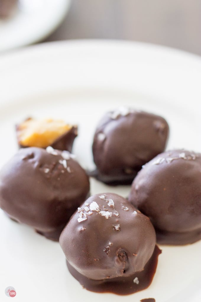 Peanut Butter and Honey Cracker Truffles are amazing!