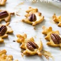 Whiskey Caramel Pie Crust Cookies