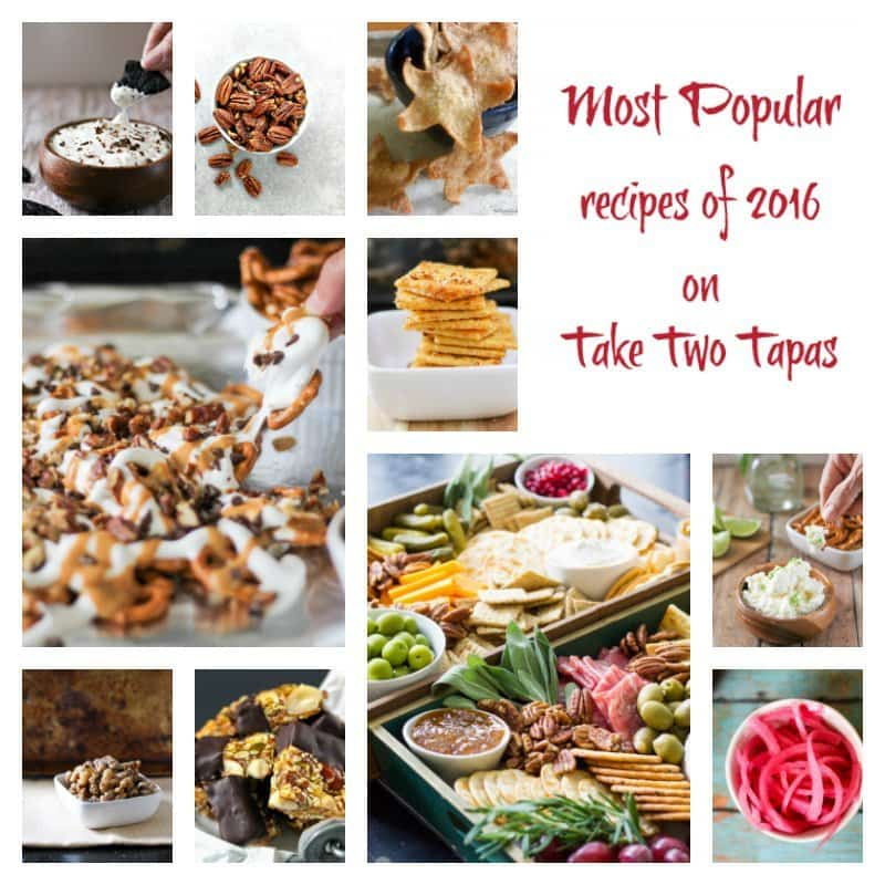 2016 Most Popular Recipes on Take Two Tapas
