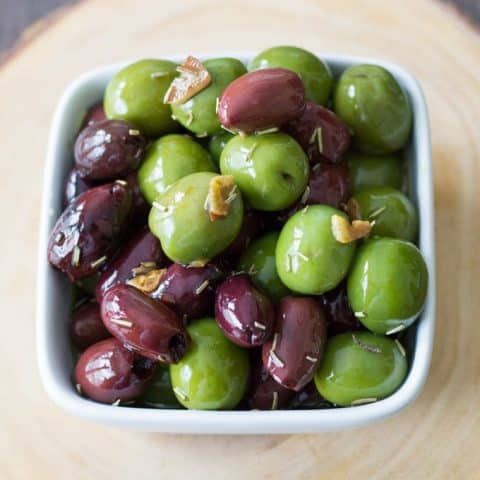 Marinated Olives for Your Cheese Board