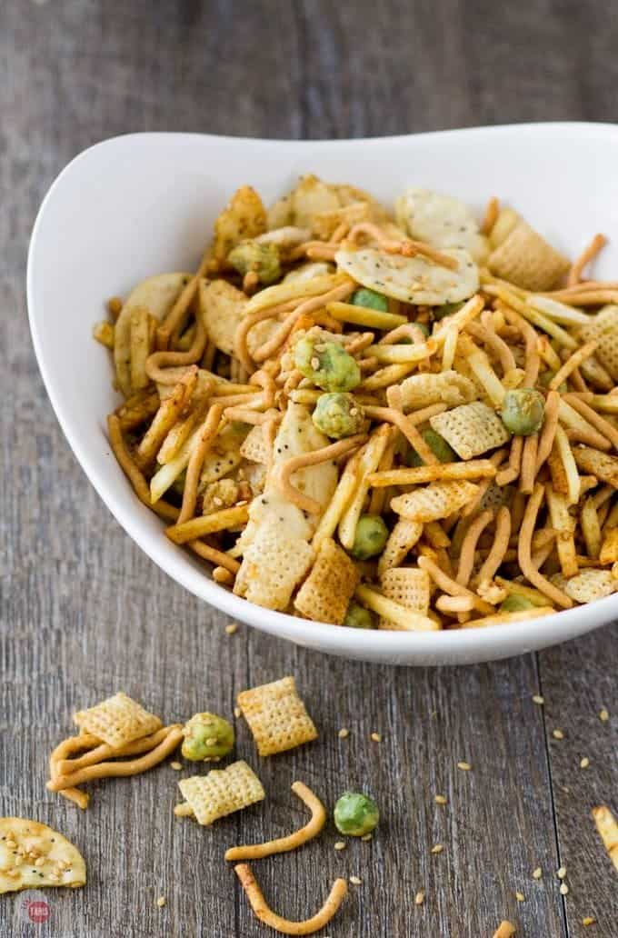 Asian Wasabi Chex Mix For Far East Snacking!