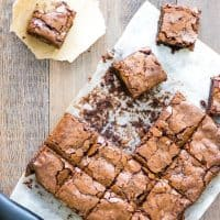 Bacon Salt Brownies For A Sweet Salty and Smoky Treat!