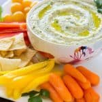 White Bean and Parsley Hummus #GetWellMichelle