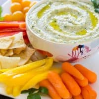 White Bean and Parsley Hummus