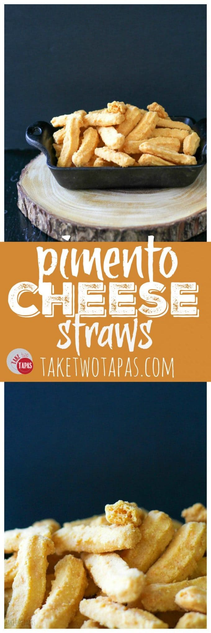 The Best Pimento Cheese Straws Recipe | Take Two Tapas | #pimentocheese #pimento #cheesestraws #recipe