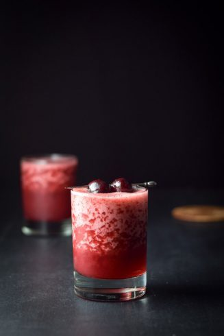 Frozen Cheerful Cherry Margarita | Dishes Delish