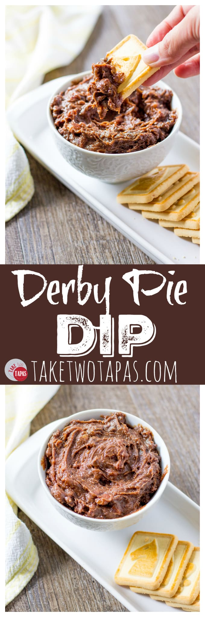 Derby Pie Dip with Bourbon and Pecans | Take Two Tapas