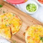 Mexican Pizzas Made at a Home Fiesta | Take Two Tapas