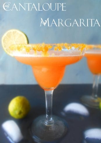 Frozen Cantaloupe Margarita | Healing Tomato