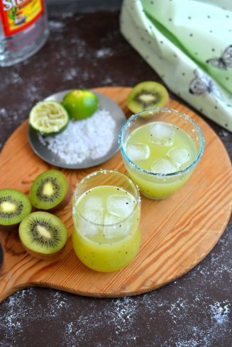 Kiwi Margaritas | Spice In The City