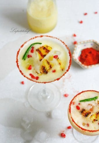 Spicy Grilled Pineapple Margarita | La Petit Chef