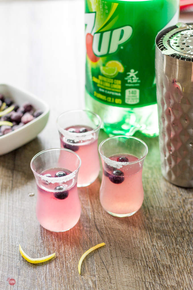 Blueberry and Lemonade Slammers | Take Two Tapas