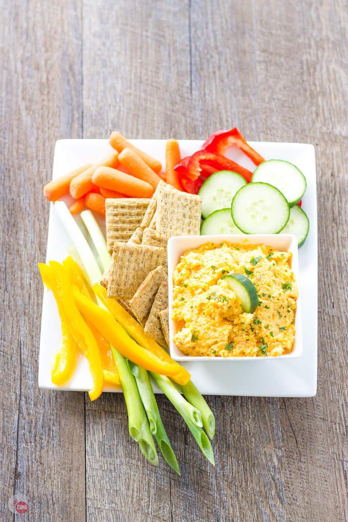 Garlic and Herb Butternut Squash Dip | Take Two Tapas
