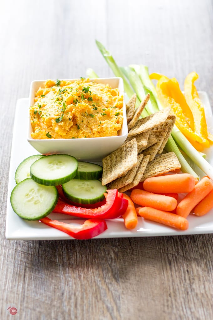 Butternut Squash and Boursin Dip | Take Two Tapas | #Butternut #Squash #Boursin #Cheese #Dip