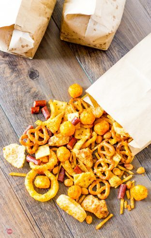 BBQ Seasoning Dusted Redneck Snack Mix | Take Two Tapas