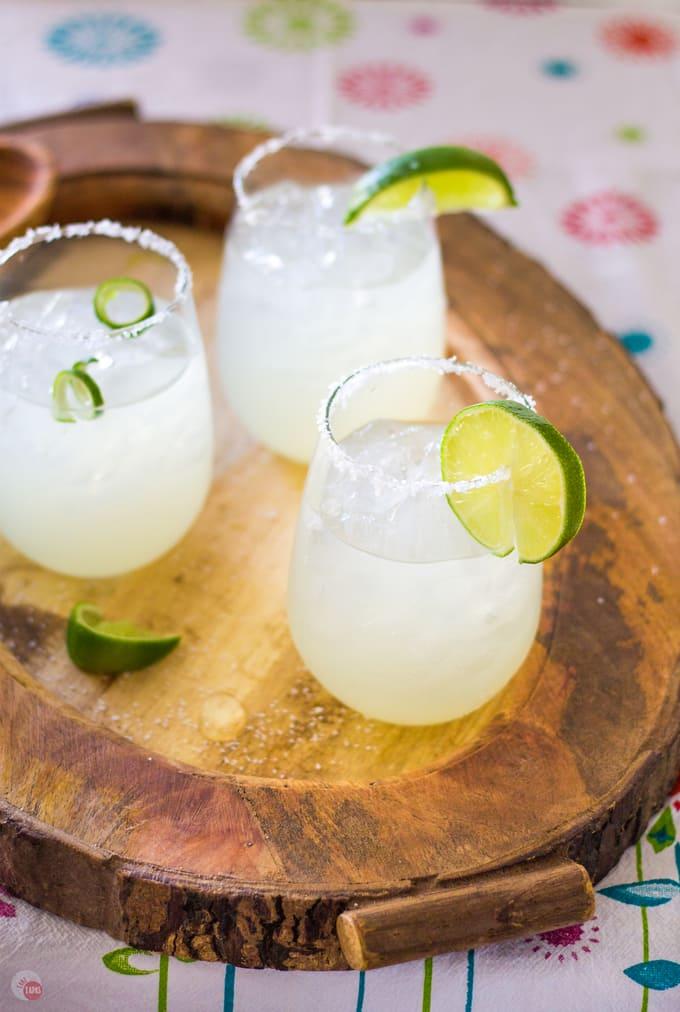 Margarita with 3 ingredients | Take Two Tapas | #margarita #cocktail #spring #CincoDeMayo #3ingredients