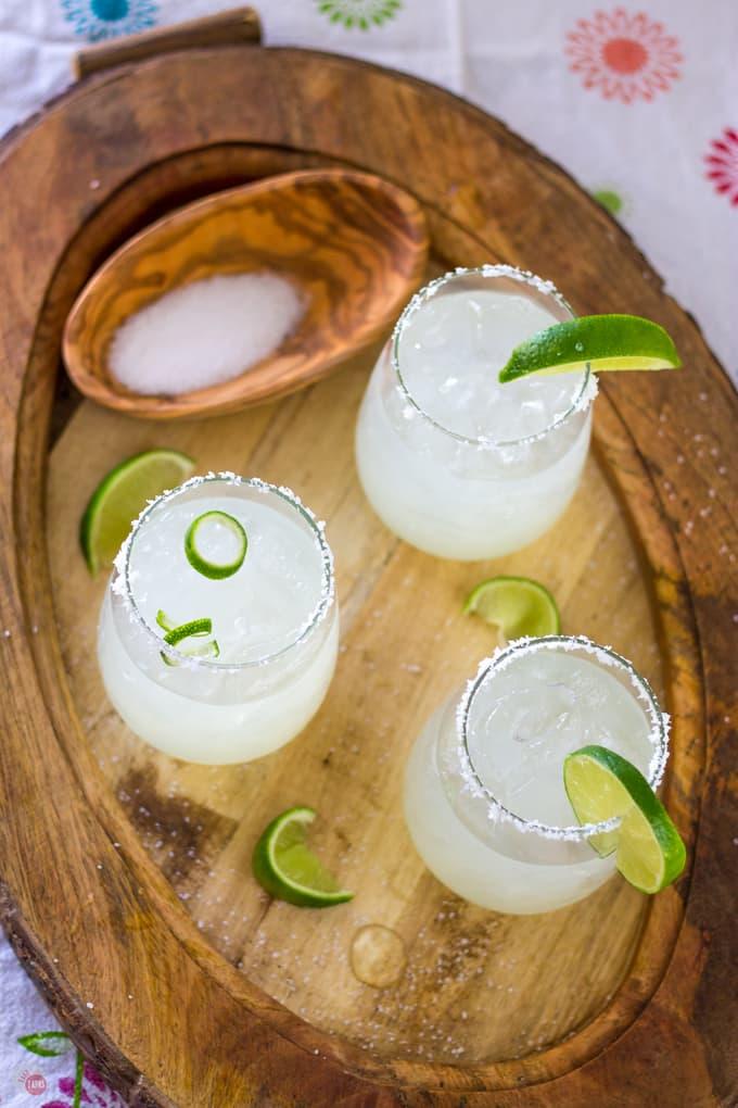 My summer is full of these 3 ingredient margaritas! | Take Two Tapas | #margarita #cocktail #spring #CincoDeMayo #3ingredients