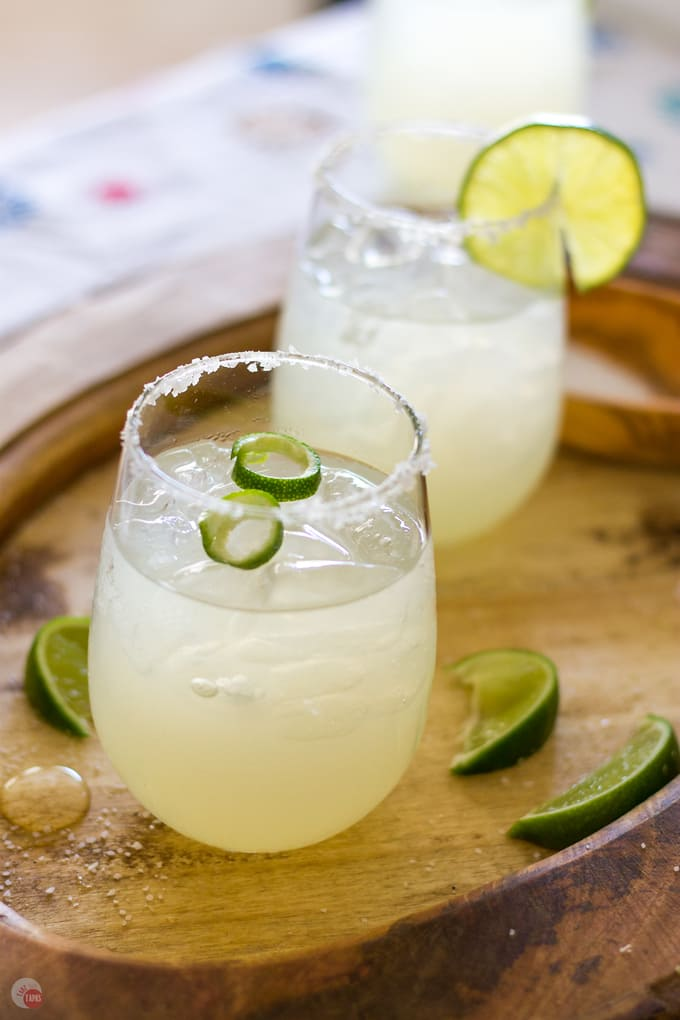 3 Ingredient Margarita | Take Two Tapas | 3 Ingredient Cocktails