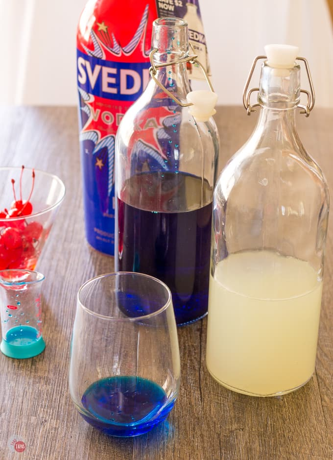 Space Pop Summer Cocktail for Patriotism | Take Two Tapas | #PatrioticRecipes #4thofJuly #RedWhiteBlue #CocktailRecipes #VodkaRecipe #SummerHolidays #SummerRecipes