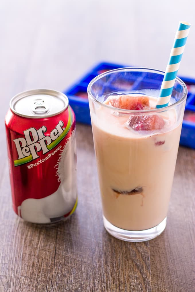 Dr Pepper Inside Out Floats for a Twist on a Classic Summer Treat | Take Two Tapas