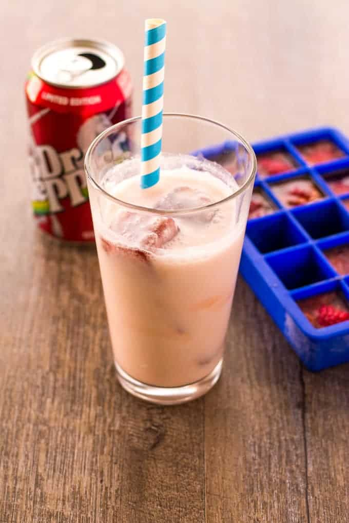 Make your regular float into an inside out soda float! | Take Two Tapas