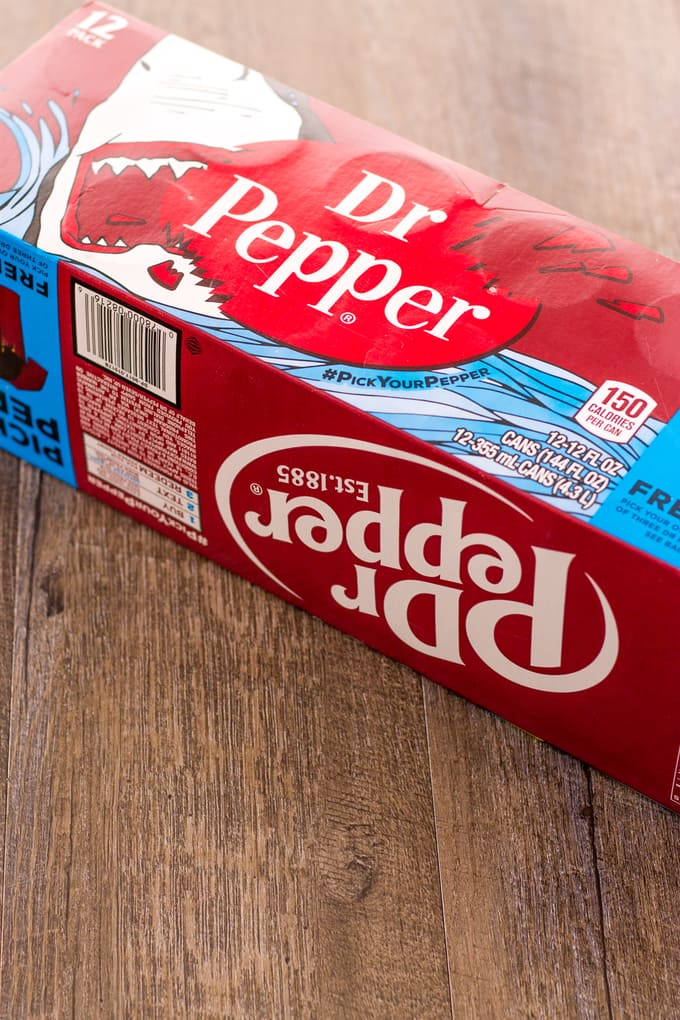Dr Pepper inside out floats lightened up | Take Two Tapas
