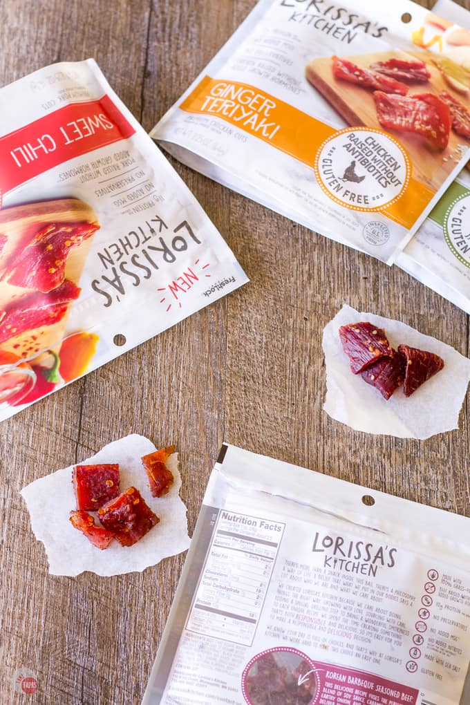 How I hike with protein rich mean snacks from Lorissa's Kitchen   Take Two Tapas