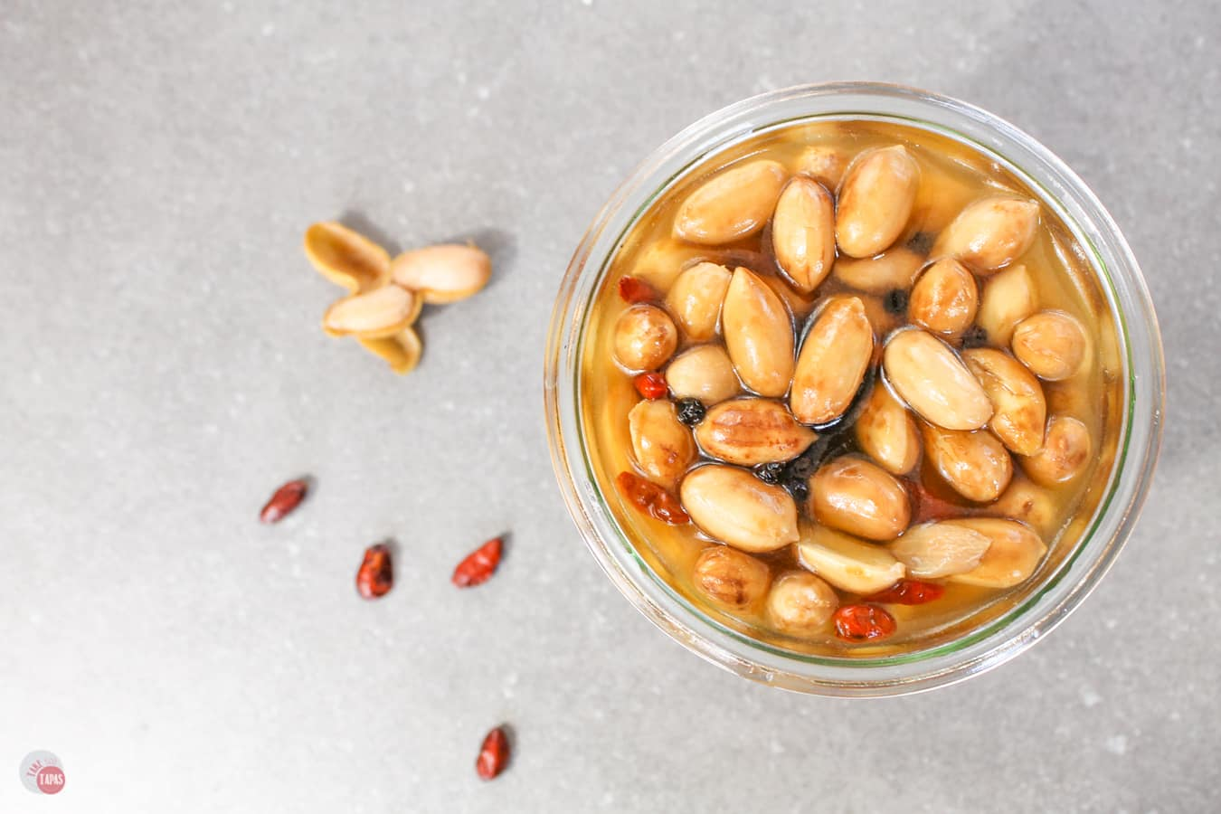 Pickled Boiled Peanuts | Take Two Tapas