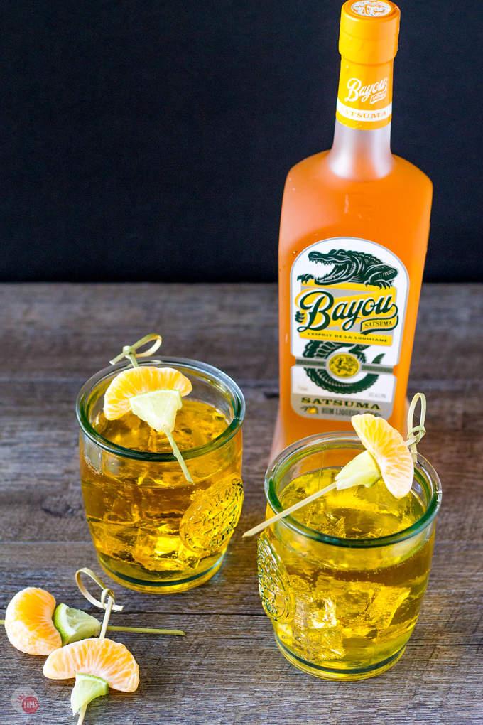 Satsuma Orange Jubilee | Take Two Tapas | #Satsuma #orange #cocktail #rum