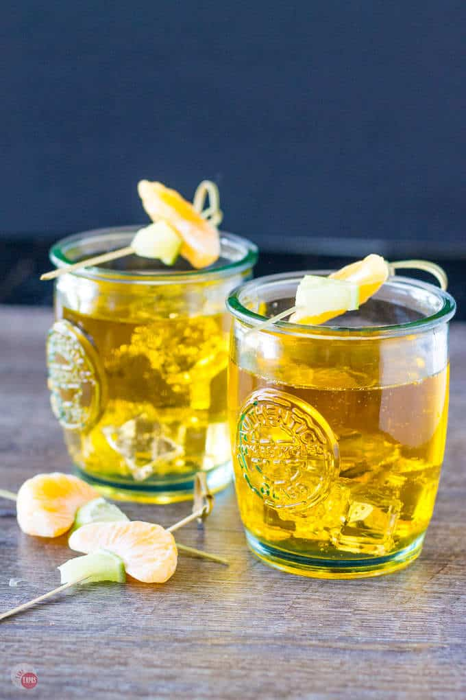 Satsuma cocktail Orange Jubilee | Take Two Tapas | #Satsuma #orange #cocktail #rum