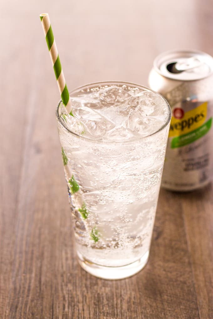Staying hydrated with Schweppes Sparkling Water | Take Two Tapas